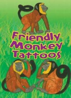 Friendly Monkey Tattoos by Dover
