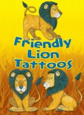 Friendly Lion Tattoos by Dover Publications Inc