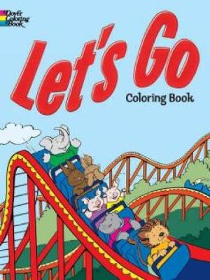 Let's Go Coloring Book by Cathy Beylon