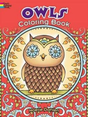 Owls Coloring Book by Noelle Dahlen