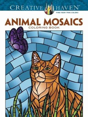 Creative Haven Animals Mosaics Coloring Book by Jessica Mazurkiewicz