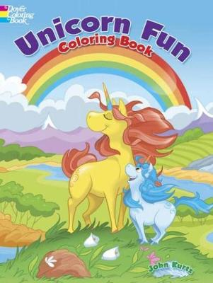 Unicorn Fun Coloring Book by John Kurtz