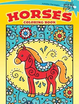 Spark - Horses Coloring Book by Noelle Dahlen