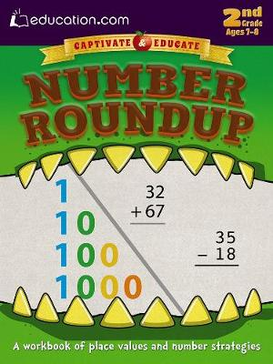 Number Roundup A workbook of place values and number strategies by Education.com