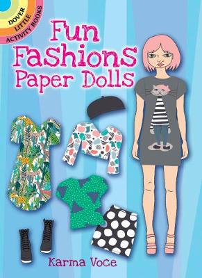 Fun Fashions Paper Dolls by Karma Voce