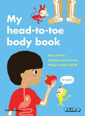 My Head-to-Toe Body Book by Okido