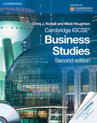 Cambridge IGCSE Business Studies Coursebook with CD-ROM by Chris J. Nuttall, Medi Houghton