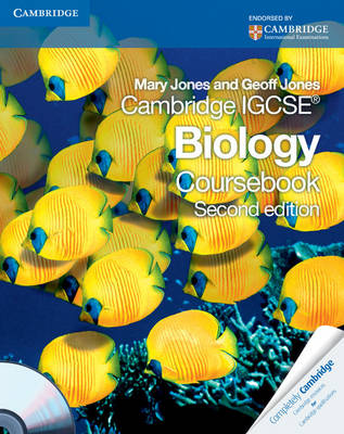 Cambridge IGCSE Biology Coursebook with CD-ROM by Mary Jones, Geoff Jones