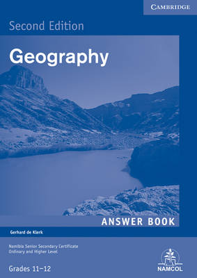 NSSC Geography Student's Answer Book by Gerhard de Klerk