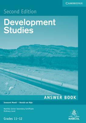 NSSC Development Studies Student's Answer Book by Innocent Mweti, H. van Wyk