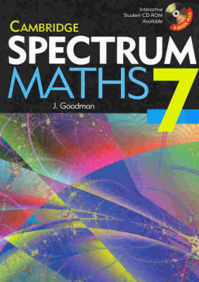 Cambridge Spectrum Mathematics Year 7 by Jenny Goodman, Tony Priddle