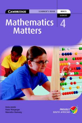 Mathematics Matters Grade 4 Learner's Book by Zonia Jooste, Fiona Macgregor, Moeneba Slamang