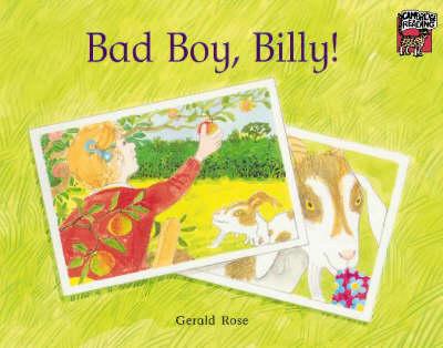 Bad Boy, Billy! by Gerald Rose