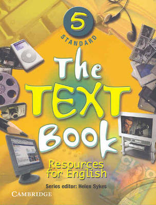 The Text Book 5 Standard Resources for English by Helen (Cambridge University Press) Sykes