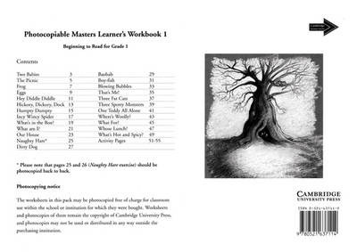 Learner's Workbook 1 Photocopiable Masters by Jean Place, Vivien Linington
