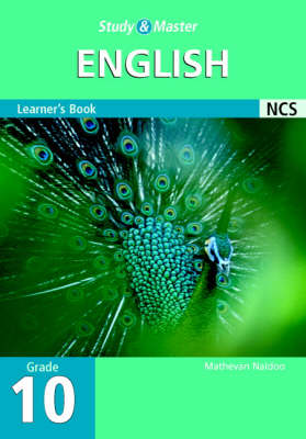 Study and Master English Grade 10 Learner's Book by Mathevan Naidoo