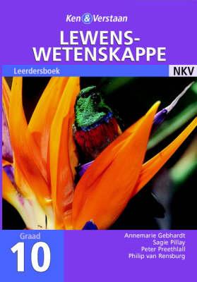 Study and Master Life Sciences Grade 10 Learner's Book Afrikaans Translation by Annemarie Gebhardt, Peter Preethlall, Sagie Pillay, Philip van Rensburg