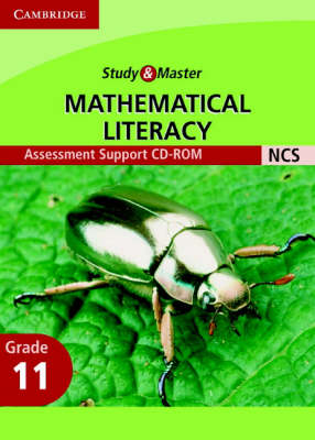 Study and Master Mathematical Literacy Grade 11 Assessment Support CD-Rom by