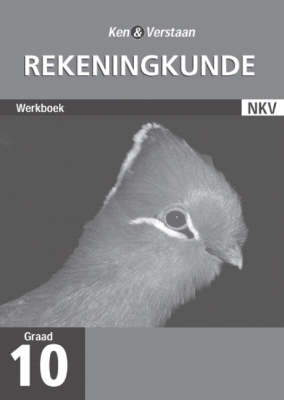 Study and Master Accounting Grade 10 Workbook (Afrikaans Translation) by