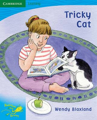 Pobblebonk Reading 3.2 Tricky Cat by Wendy Blaxland