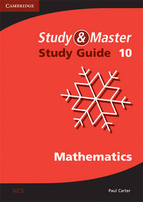 Study and Master Mathematics Grade 10 Study Guide by Paul Douglas Carter