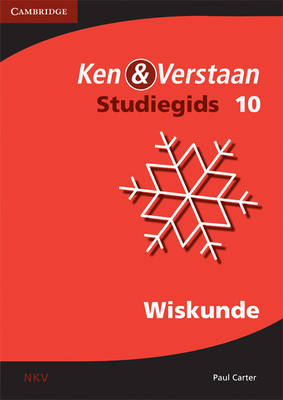 Study and Master Mathematics Grade 10 Study Guide (Afrikaans Translation) by Paul Douglas Carter