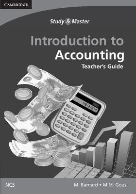 Introduction to Accounting for the Senior Phase Teacher's Guide by Marietjie Barnard, M.M. Gous