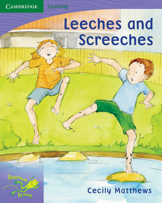 Pobblebonk Reading 6.3 Leeches and Screeches by Cecily Matthews