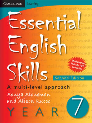 Essential English Skills Year 7 A Multi-level Approach by Alison Rucco, Sonya Stoneman