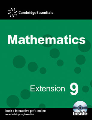 Cambridge Essentials Mathematics Extension 9 Pupil's Book with CD-ROM by Julie Bolter, Susan Timperley, Simon Bullock, Graham Newman