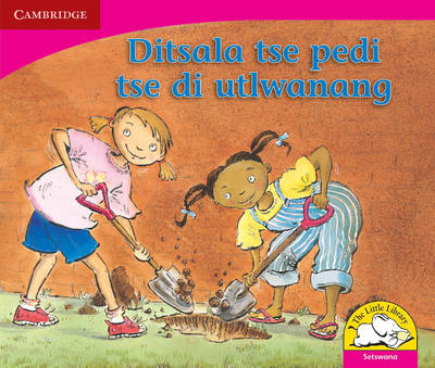 Little Library Literacy: Two Best Friends Setswana Version by Kerry Saadien-Raad