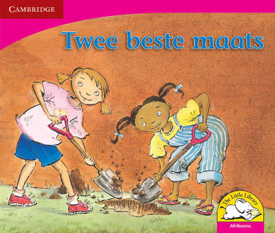 Little Library Literacy: Two Best Friends Afrikaans Version by Kerry Saadien-Raad