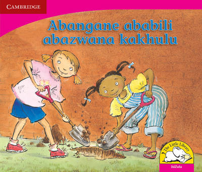 Little Library Literacy: Two Best Friends Isizulu Version by Kerry Saadien-Raad
