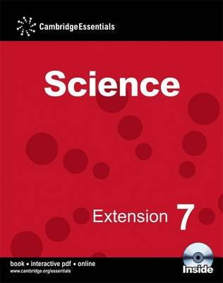 Cambridge Essentials Science Extension 7 Camb Ess Science Extention 7 with CD-ROM by Sam Ellis, Jean Martin