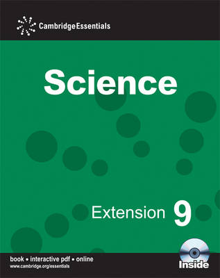 Cambridge Essentials Science Extension 9 Camb Ess Science Extension 9 with CD-R by Sam Ellis, Jean Martin
