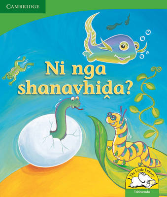 Little Library Life Skills: Can You Wriggle? Tshivenda Version by Kerry Saadien-Raad