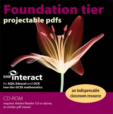 SMP Interact for Two-tier GSCE Mathematics Foundation Tier Projectable PDFs CD-ROM by School Mathematics Project
