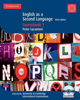 Cambridge English as a Second Language Coursebook 1 with Audio CDs (2) by Peter Lucantoni