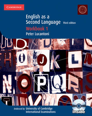 Cambridge English as a Second Language Workbook 1 with Audio CD by Peter Lucantoni