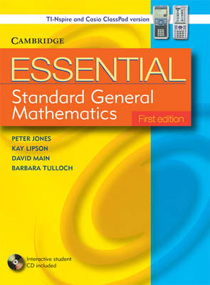 Essential Standard General Maths with Student CD-ROM TIN/CP Version by Peter Jones, Kay Lipson, David Main, Barbara Tulloch