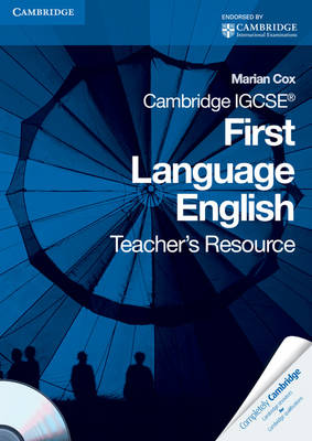 Cambridge IGCSE First Language English Teacher's Resource Book with CD-ROM by Marian Cox