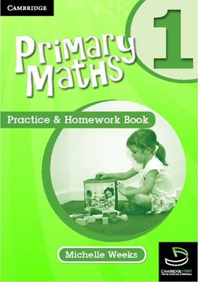 Primary Maths Practice and Homework Book 1 by Michelle Weeks