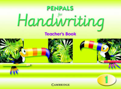 Penpals for Handwriting Year 1 Teacher's Book by Gill Budgell, Kate Ruttle