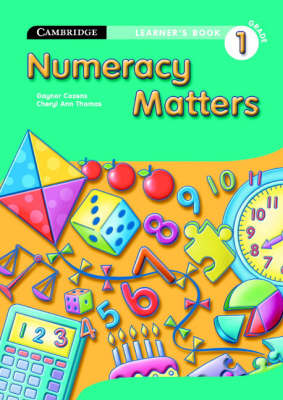 Numeracy Matters Learner's Book Grade 1 by Gaynor Cozens, Cheryl Ann Thomas