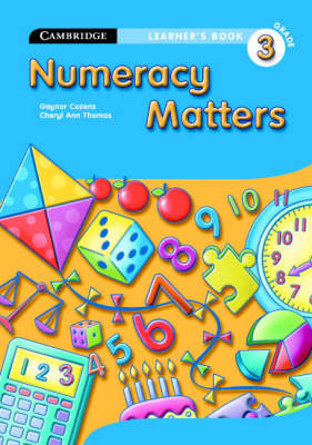 Numeracy Matters Learner's Book Grade 3 by Gaynor Cozens, Cheryl Ann Thomas