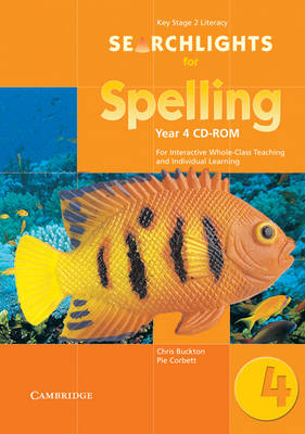 Searchlights for Spelling Year 4 CD-ROM For Interactive Whole-class Teaching by Edutech Systems Limited