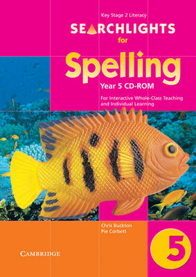 Searchlights for Spelling Year 5 CD-ROM For Interactive Whole-class Teaching by Edutech Systems Limited