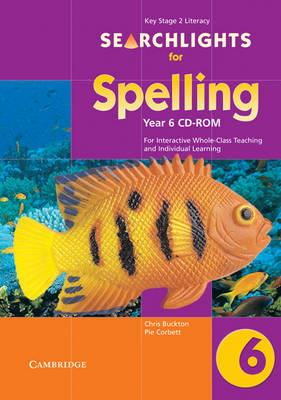Searchlights for Spelling Year 6 CD-ROM For Interactive Whole-class Teaching by Edutech Systems Limited