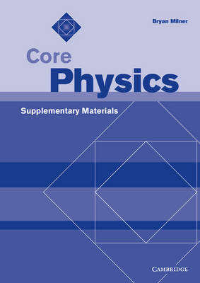 Core Physics Supplementary Materials Supplementary Materials by Bryan Milner