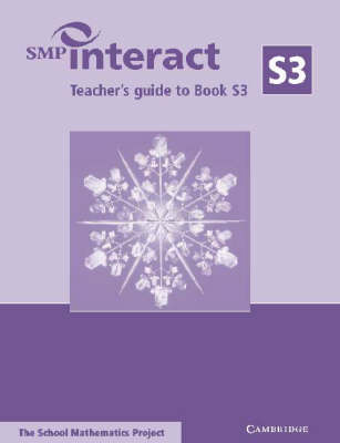 SMP Interact Teacher's Guide to Book S3 by School Mathematics Project